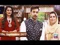 Salam Zindagi With Faysal Qureshi -  Nazia Malik & Aneesa Unus - 19th September 2017