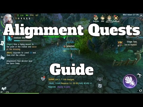 Alignment Quests Guide Dark and Light Tales of Gaia