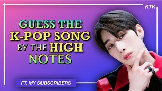 Download lagu Guess The K Pop Song By The High Notes K POP GAME