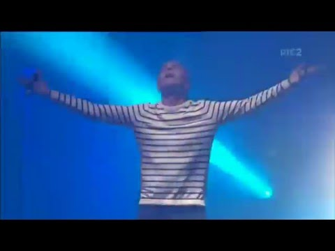Underworld - Born Slippy (live) Electric Picnic 2015 RTE