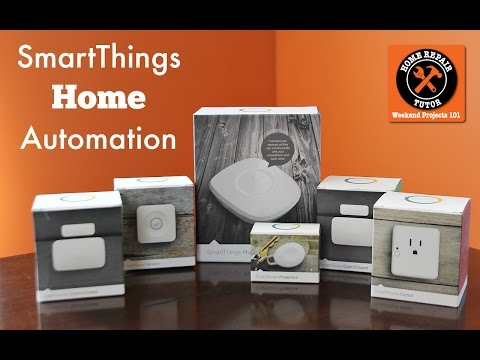 SmartThings Home Automation -- by Home Repair Tutor