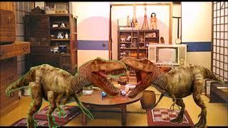 【合唱】恐竜と歌(たき火, 恋,八木節) Japanese music