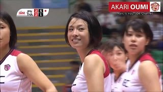 NEC Red Rockets - Akari OUMI from Japan to 2016 AVC Women's Club Volleyball Championship