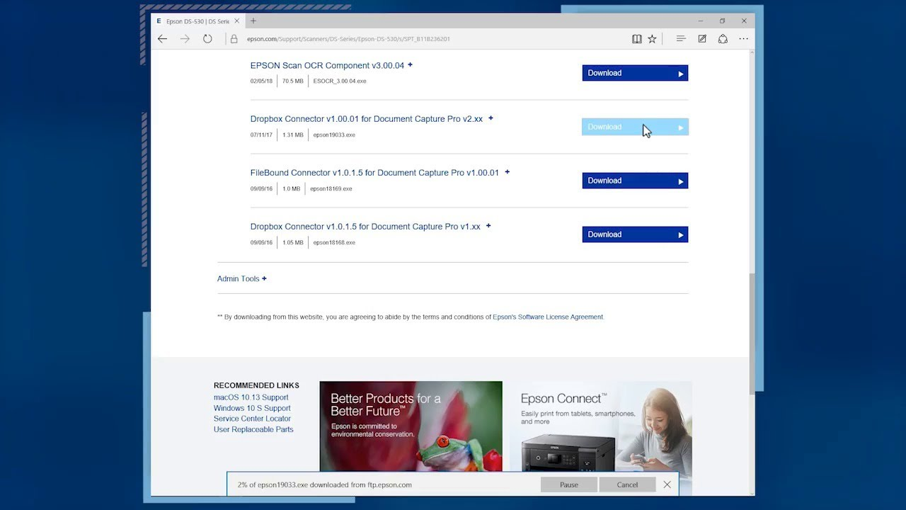 Epson Document Capture Pro: #8 Adding Destinations to Document Capture Pro