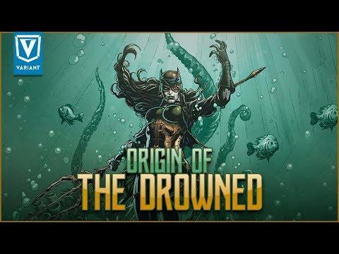 Origin Of The Drowned! (Evil Batman Aquaman)