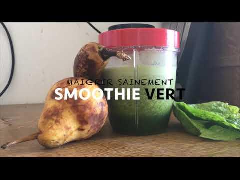 detox-ventre-plat,-smoothie-vert-pour-perdre-du-poids-sainement