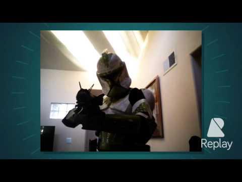 Real life clone trooper!!