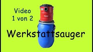 Part 1     Werkstatt Zyklon-Staubsauger | Eigenbau | Dust Separator