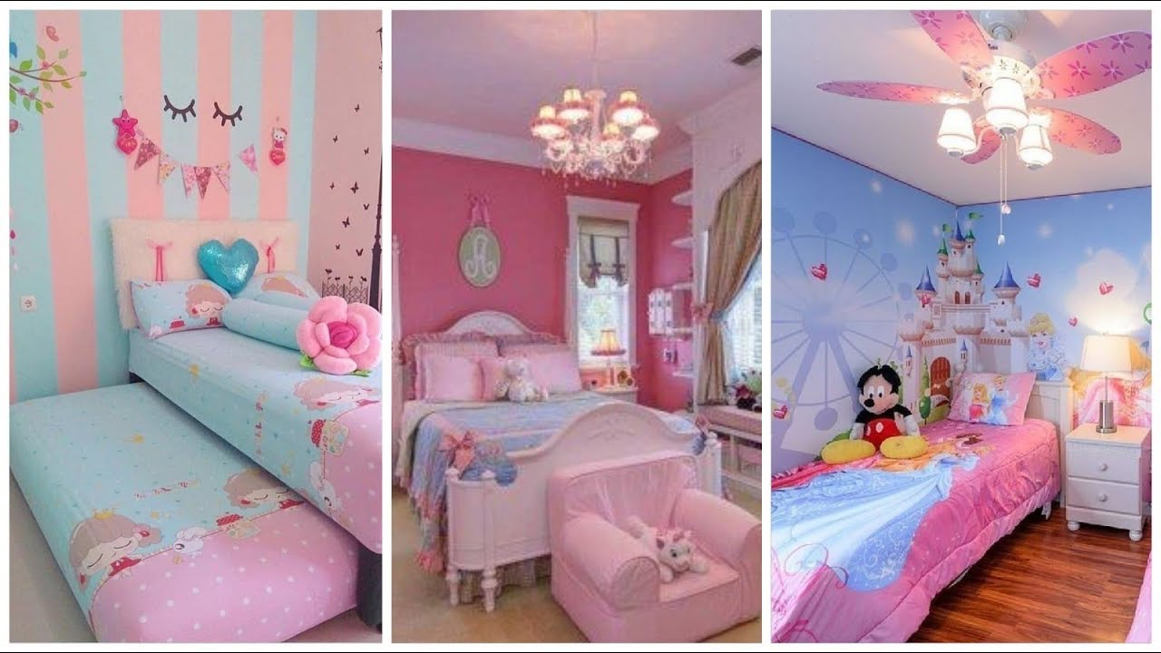 Baby girl room decor ideas 2020. Cute and pretty room ... on Girls Room Decorations  id=39760