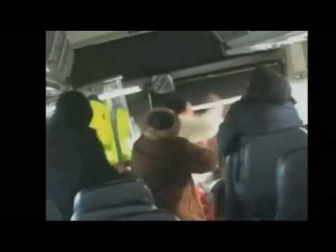 Greyhound Bus Passenger Gets Arrested AFTER BEATING UP A STATE TROOPER!!!!