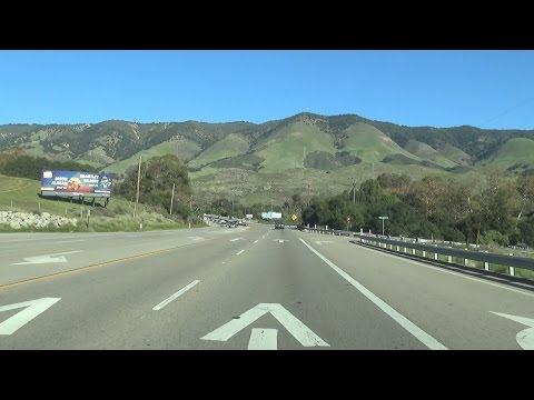 US-101 in San Luis Obispo, CA and the Cuesta Pass