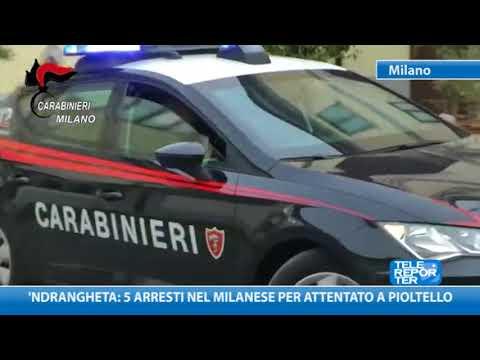 'Ndrangheta: 5 arresti