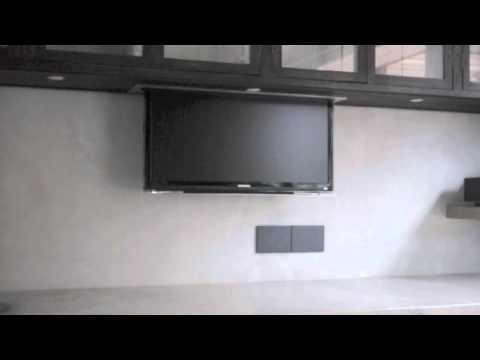 Kitchen Tv Lift Youtube