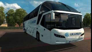 Euro truck simulator 2 serisi otobüs modu