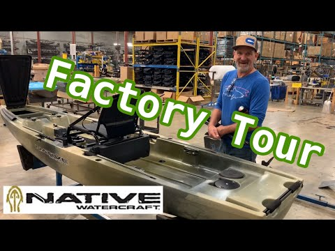 How A Kayak Is Made + Native Slayer MAX Preview