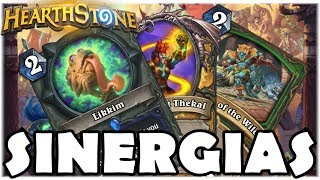 HEARTHSTONE - SINERGIAS DIFERENCIADAS! (O RINGUE DO RASTAKHAN)