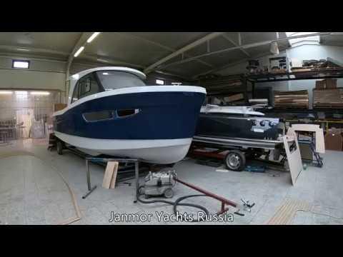 Моторная яхта JANMOR 700 производство