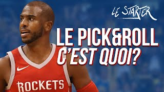 LE PICK AND ROLL, C'EST QUOI ? I LE STARTER #5 - L'HISTOIRE DU PICK AND ROLL Feat EDDIE DAVID