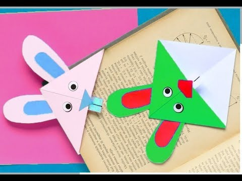 Colorful Origami Bookmark Tutorial...
