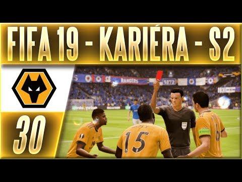 FIFA 19 Kariéra - Wolves | #30 | Kontroverzní Červená Karta? | CZ Let's Play
