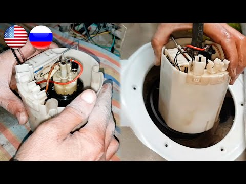 How To Replace Fuel Pump Correctly On Mercedes W211 / Replacement Fuel Pump Mercedes W211, W219, CLS