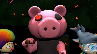 Playing as PIGGY! NEW PIGGY HUNT GAME