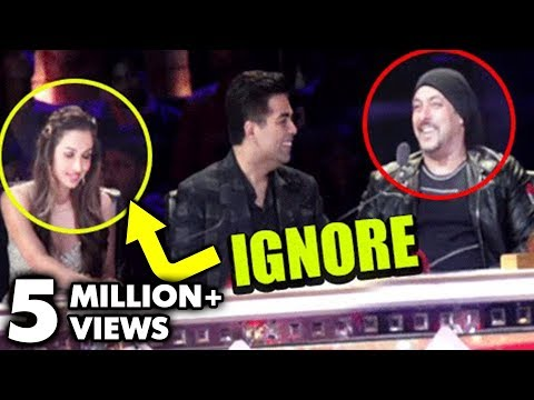 Salman Khan IGNORES Malaika Arora Khan At India's Got Talent