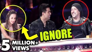 Salman Khan IGNORES Malaika Arora Khan At India's Got Talent thumbnail