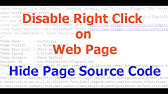 How to Disable Right Click in WordPress [2019] - YouTube