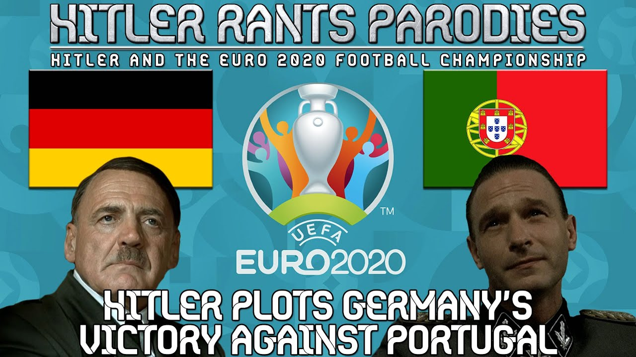Hitler plots Germany's victory against Portugal