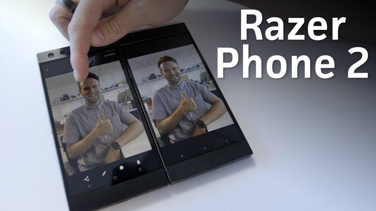 Razer Phone 2 unboxing & quick camera test