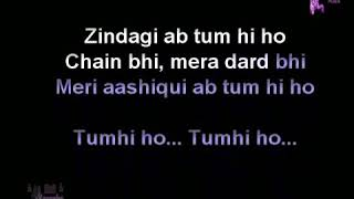tum Hi Ho Ashiqui 2 instrumental karaoke With Hindi Lyrics By Dj Raj & Brothers