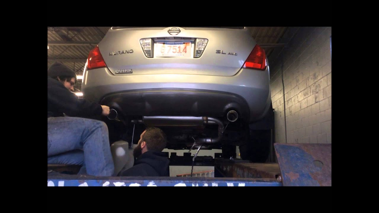 nissan murano stock replacement with nice tips 02169