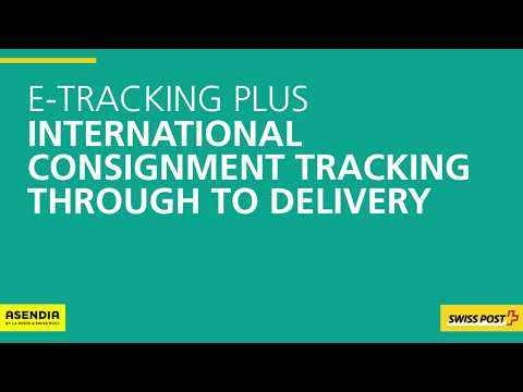 E-Tracking Plus: track non-registered small goods abroad