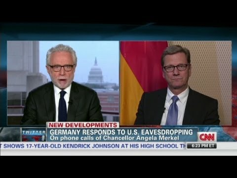 Wolf interviews German Foreign Minister Guido Westerwelle
