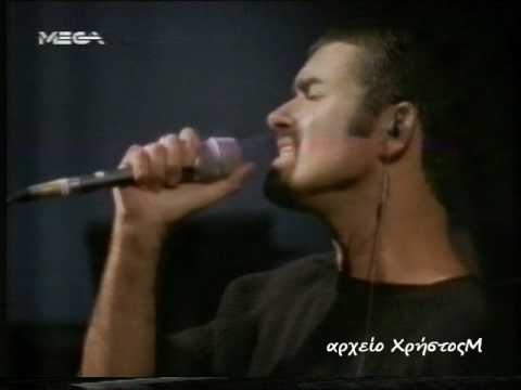 "George Michael ""Strangest Thing"" 3-10-1996 rehearsal from Greek TV"