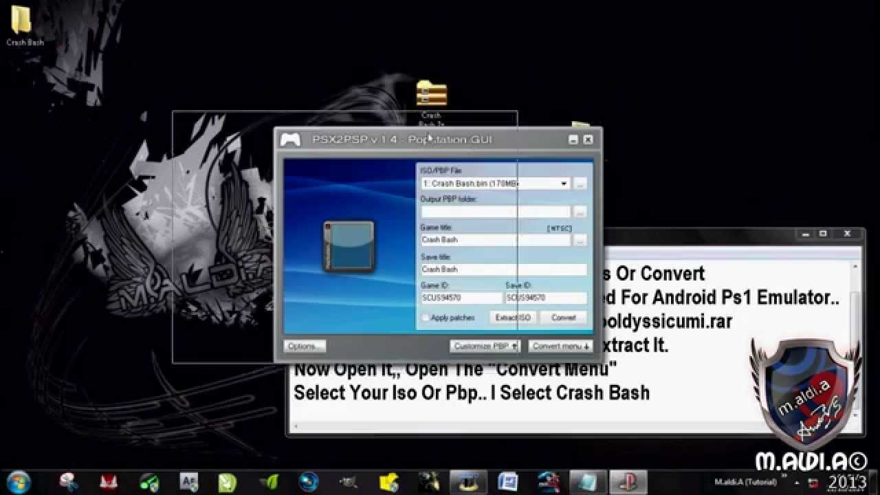 PSX Iso How To Convert Pbp Compress