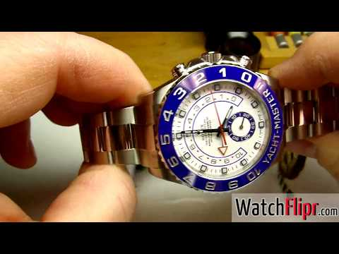 Rolex 116680 Yacht-Master II Stainless Steel Watch Review