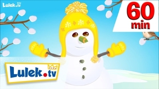 Bałwanek i wiosna! I + więcej piosenek dla dzieci I 60 minut z Lulek.tv