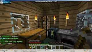Как сделать ,найти железную руду и сделать железный меч!