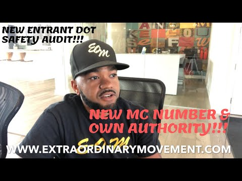 TRUCKING: NEW ENTRANT SAFETY AUDIT OWN AUTHORITY! HOW TO PREPARE! SAFETY AUDITORS ARE LOOKING FOR ..