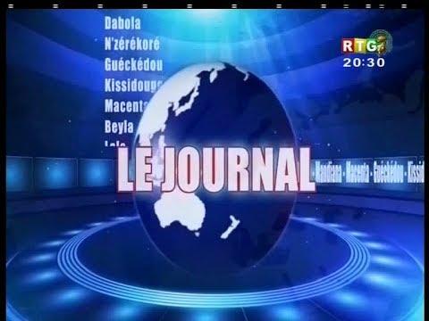Le JT de la RTG du 25 janvier 2018