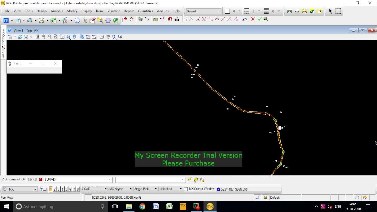 Mx Road Tutorial Horizontal Alignment Youtube