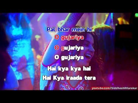 """O Gujariya (from """"Queen"""") Instrumental / Karaoke with Lyrics"""