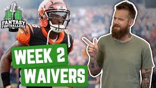 Fantasy Football 2019 - Week 2 Waivers + QB Streamers, Buy Low Targets - Ep. #771