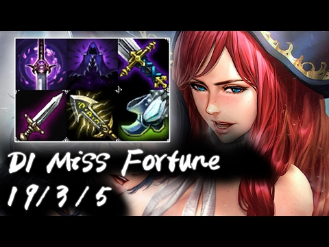 Diamond 1 Miss Fortune vs Ezreal | Highest Win Rate ADC | Korea High Elo