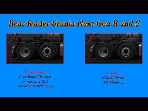 Rear Fender Scania Next Gen