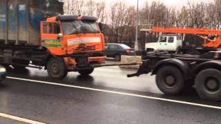 Дорожные работы на Можайском шоссе(, 2015-11-17T20:04:13.000Z)