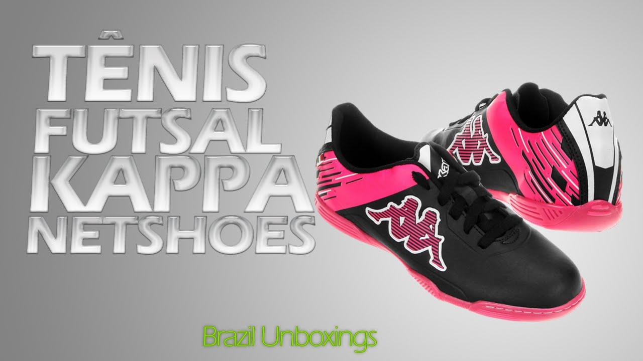 923aab947aa76 Unboxing Tênis Futsal Kappa - Netshoes  4 - Brazil Unboxings - YouTube