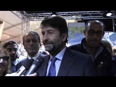 BMTA 2016 - Dario Franceschini Ministro dei Beni e delle Attività Culturali e del Turismo